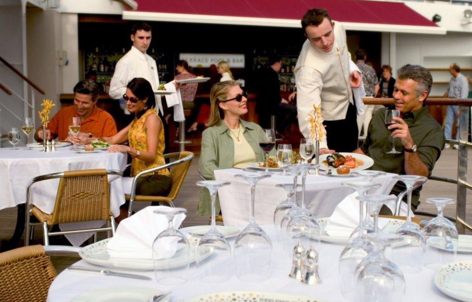 Lounas kannella, Cunard