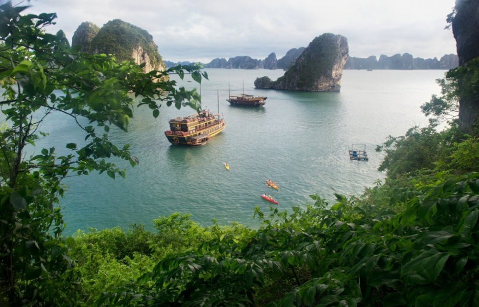 Halong Bay, Vietnam, Aasia