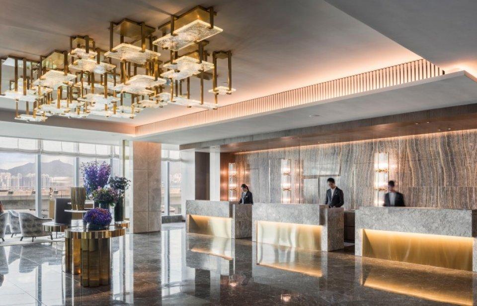 Hotel Vic lobby, Hong Kong