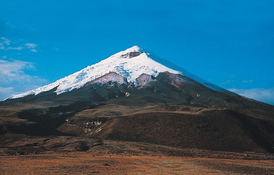 Vuoristomaisema Ecuador