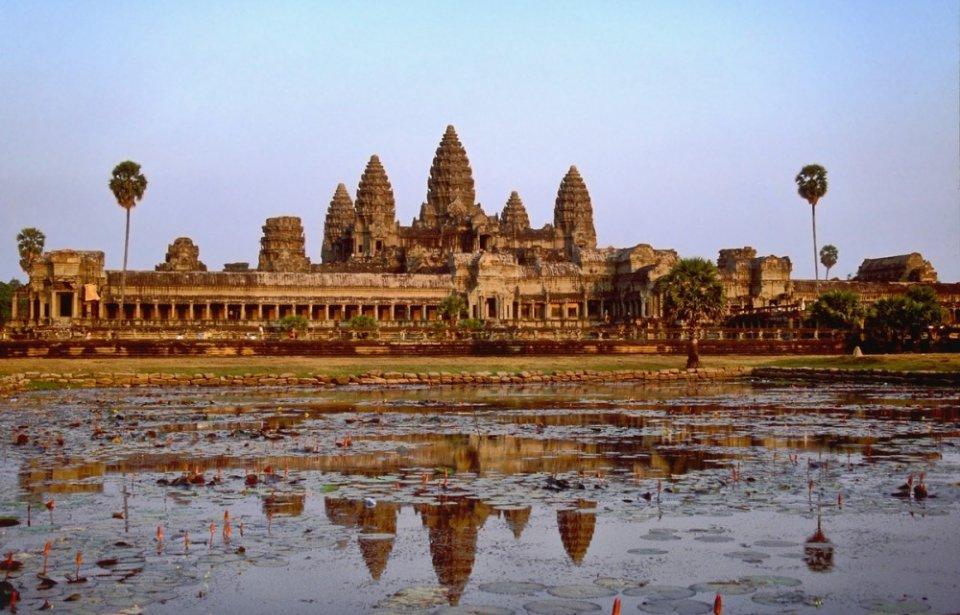 Angor Wat, Kambodza