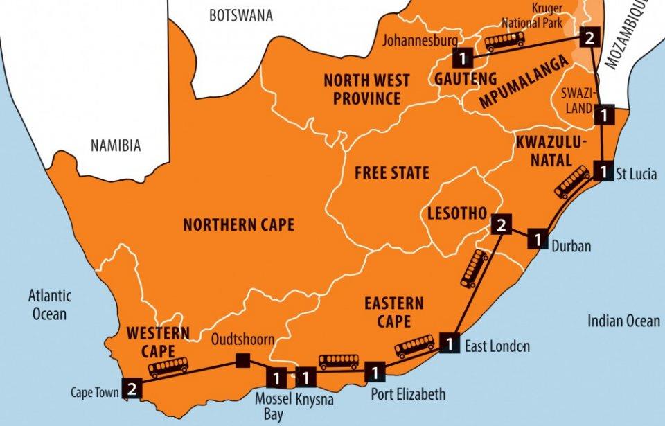 Yllattava Etela Afrikka Matkatarjous Matkatoimisto Aktiv Resor