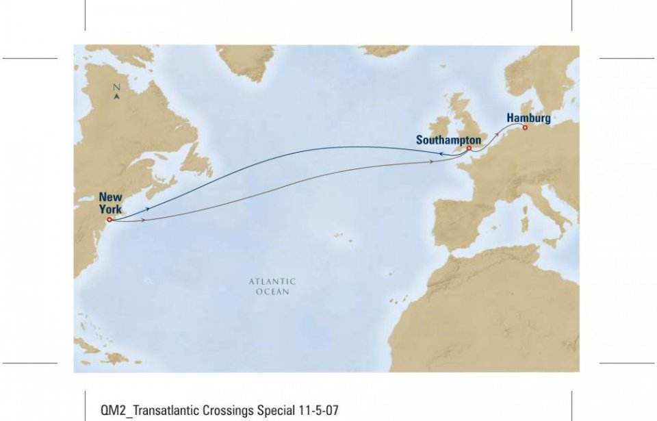 Transatlantic crossing, Cunard