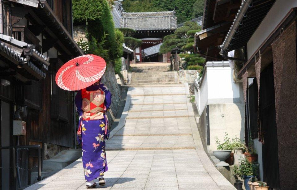 Erilainen Japani