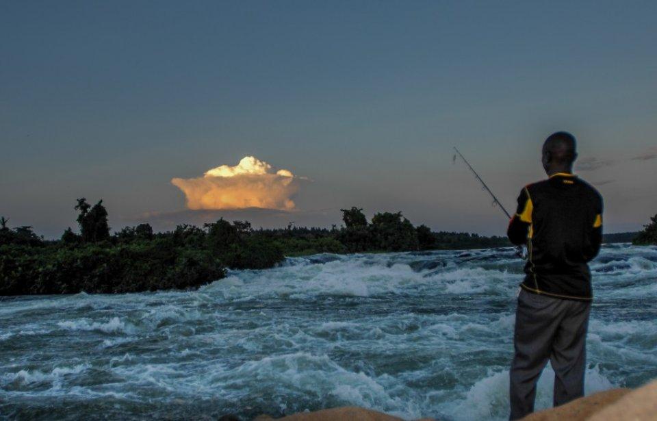 Kalastusta Niilin alkulähteillä