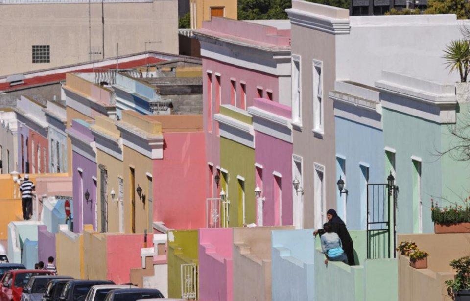 Etelä-afrikka, räätälöity, yksilöllinen, afrikka, värikäs, kaupunki