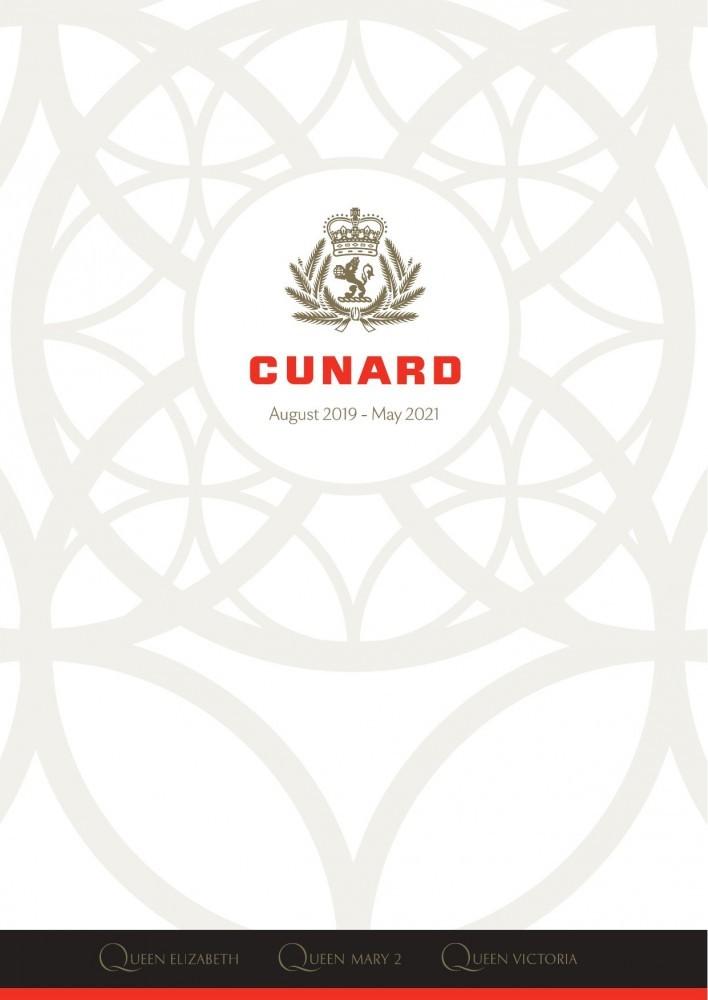 Cunard Risteilyohjelma elokuu 2019 - toukokuu 2021