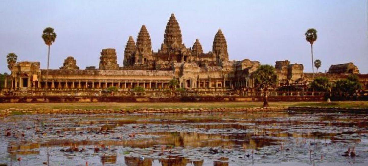 Angor Wat, Siem Reap, Kambodza,