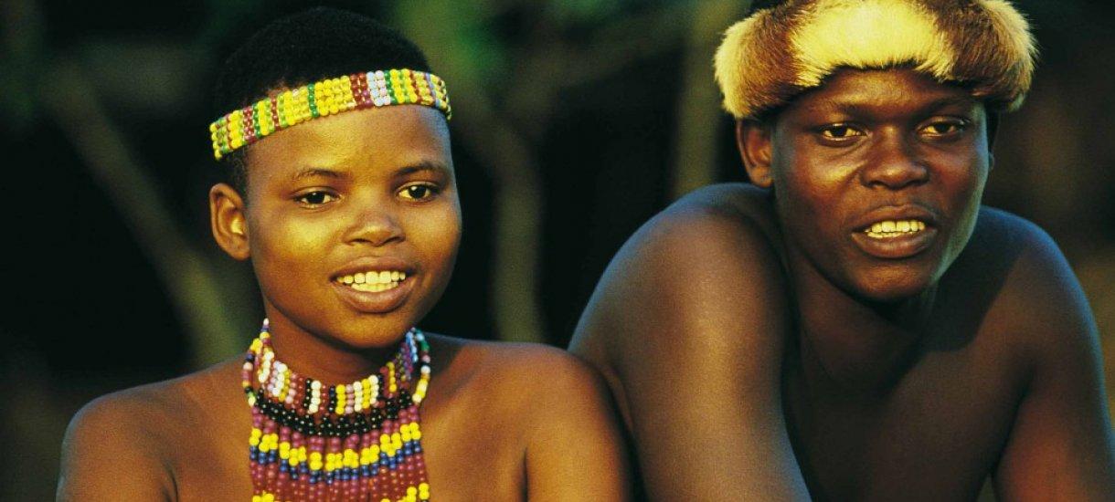 Zulu pariskunta, Etelä-Afrikka