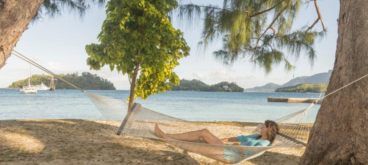 Rantaloma Seychelleillä