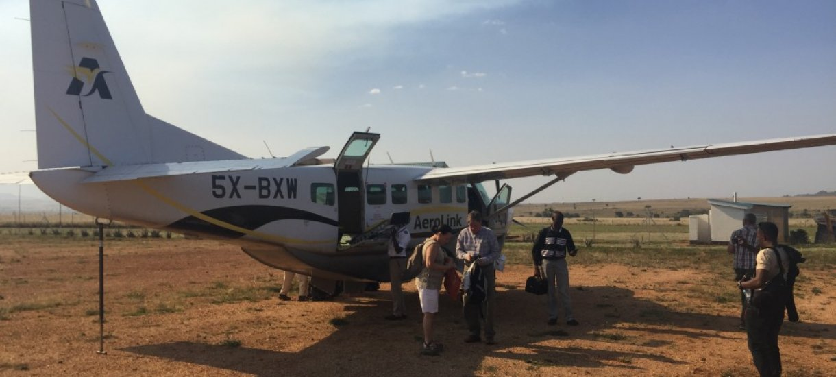 Ugandan lentosafari