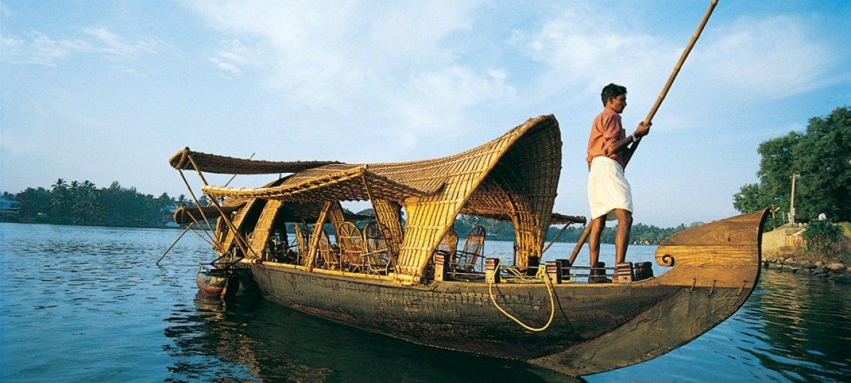 Kerala houseboat,