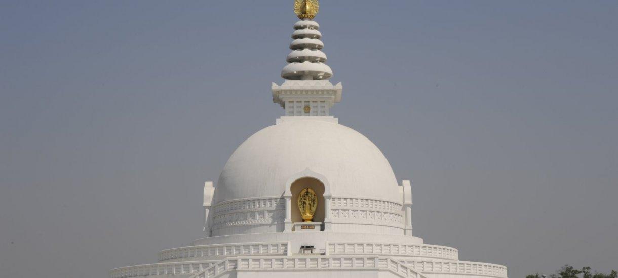 Lumbini stupa, Nepal