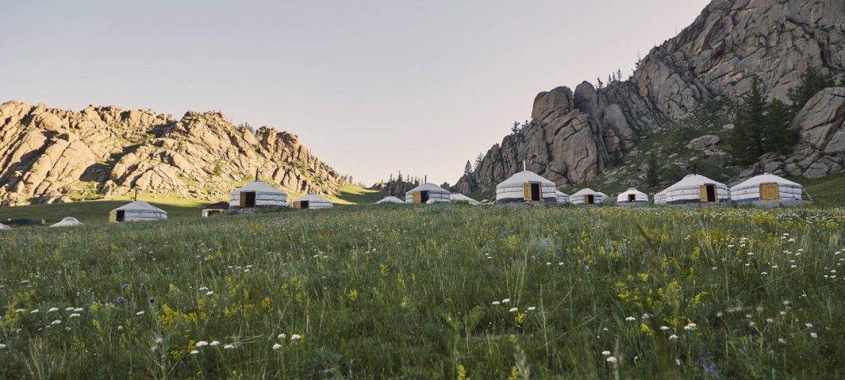 Jurttia Mongoliassa