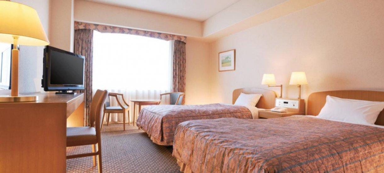Standard twin room, New Miyako Hotel, Kioto