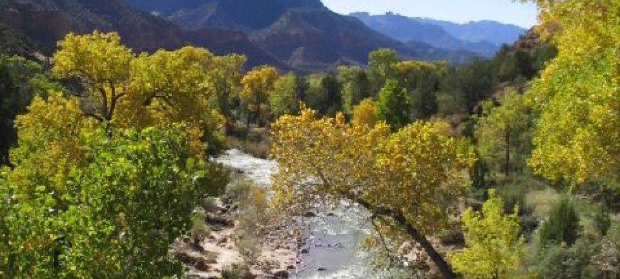 Zion kansallispuisto, Utah