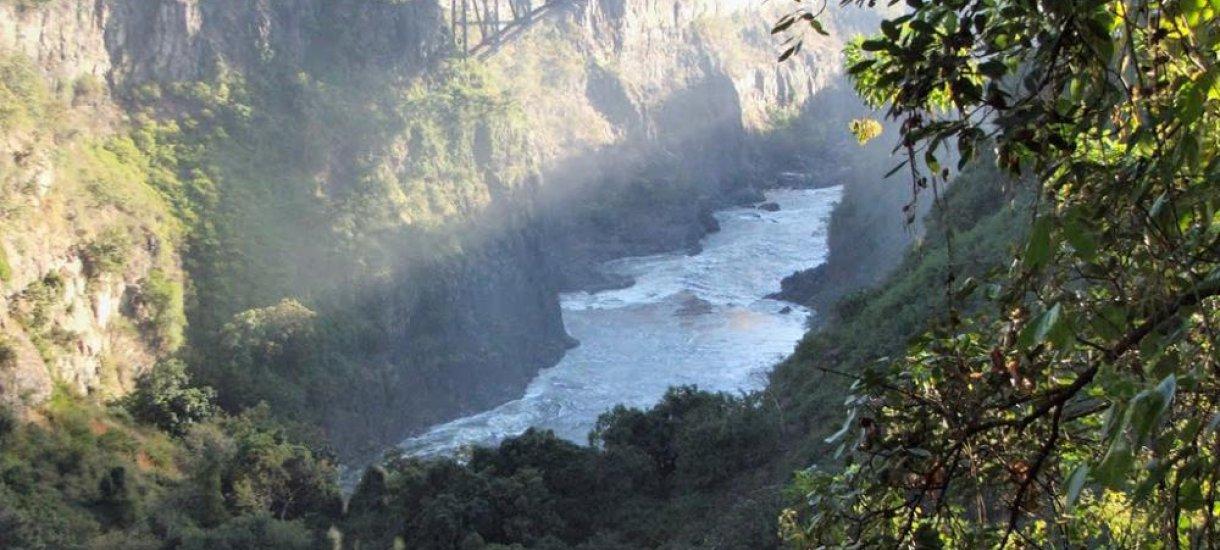 Victoria falls, Zimbabwe, Sambia